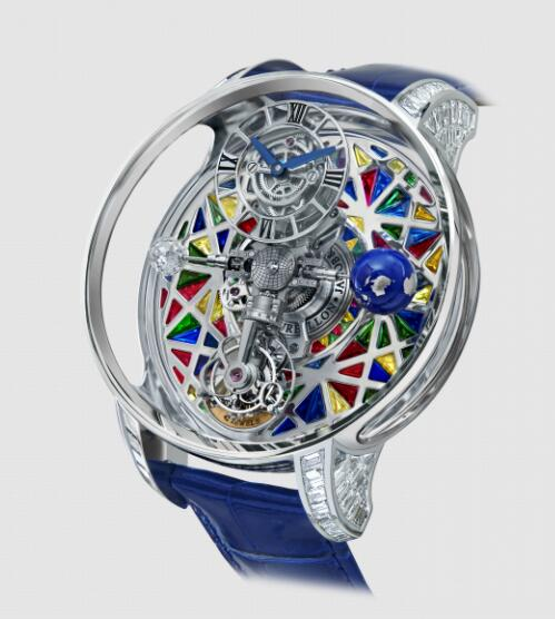Replica Jacob and Co Astronomia Meteorite Multicolor Watch AT800.30.BD.UL.BBALA
