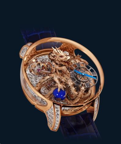 Jacob and Co Astronomia Replica Watch ASTRONOMIA TOURBILLON DRAGON ROSE GOLD AT802.40.DR.BD.ABALA