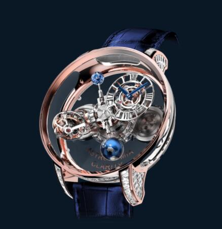 Jacob and Co Astronomia Replica Watch ASTRONOMIA CLARITY ROSE GOLD BAGUETTE AT820.40.BD.SB.A