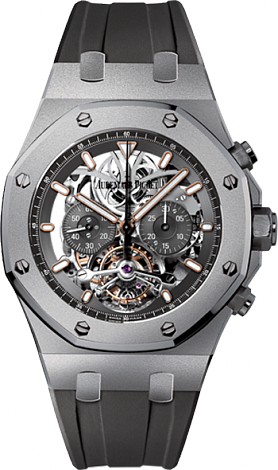 Replica Audemars Piguet Royal Oak Tourbillon Chronograph 26347TI.GG.D004CA.01 watch