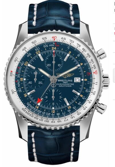 Breitling fake Navitime World A2432212/C651-747P watch