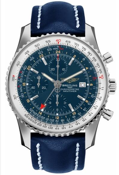 Fake Breitling Navitime 46mm Chronograph A2432212-C651-102X watch