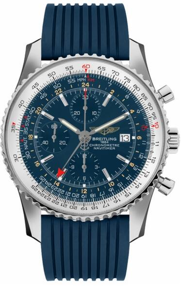 Fake Breitling Navitime World A2432212/C651-258S watch