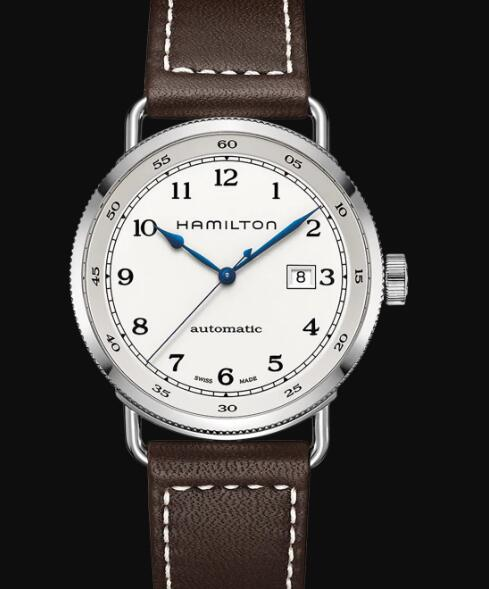 Hamilton Khaki Navy Review Automatic Watch Pioneer Silver Dial Replica H77715553