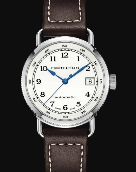 Hamilton Khaki Navy Review Automatic Watch Pioneer Silver Dial Replica H78215553