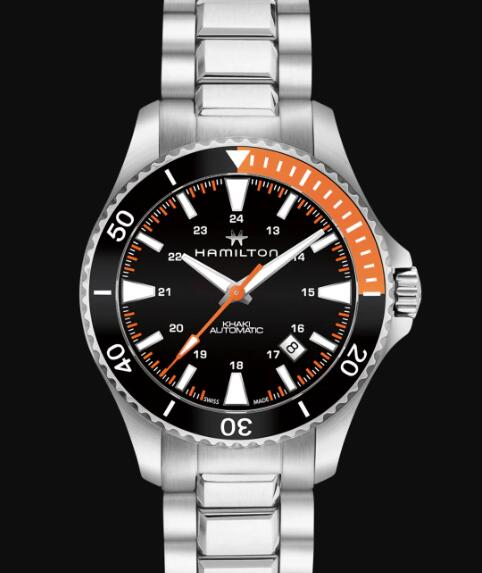 Hamilton Khaki Navy Review Scuba Automatic Watch Replica H82305131