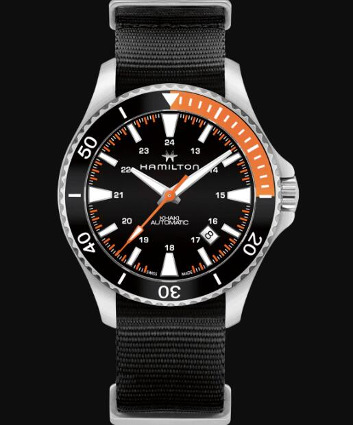 Hamilton Khaki Navy Review Scuba Automatic Watch Replica H82305931