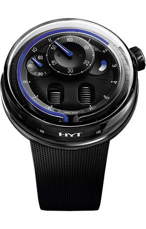 Replica HYT H0 Blue Night 048-DL-90-BF-RU watch