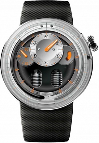 Replica HYT H0 Orange 048-TT-92-NF-RU watch