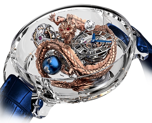 Replica Jacob & Co ASTRONOMIA DRAGON AT125.80.DR.SD.B watch