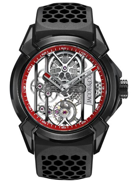 Jacob Co Replica EPIC X BLACK TITANIUM EX100.21.PS.RW.A watch