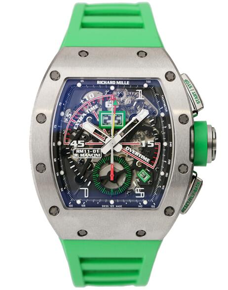Richard Mille RM 011-01 Automatic Flyback Chronograph Roberto Mancini Replica watch