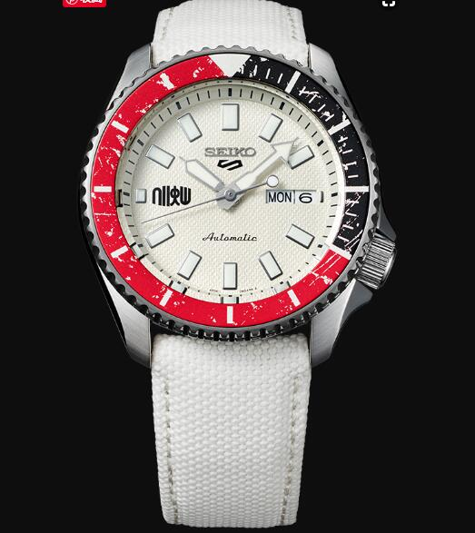 Seiko 5 Sports Replica Watch STREET FIGHTER V Limited Edition RYU model SRPF19K1