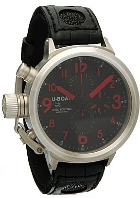 U-Boat Flightdeck CA 925 RED 1884 Replica watch