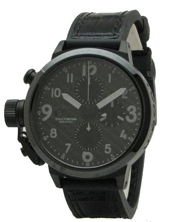 U-Boat 6204 Flightdeck Black Ceramic replica watch